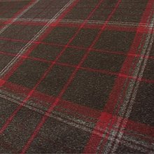 Loome Iona 'Redcurrant Plaid' : Red Wool