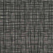 Loome Orla Kiely Scribble Gunmetal Cotton Prints