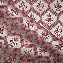 Loome Porchester 'Bordeaux Pattern' : Red