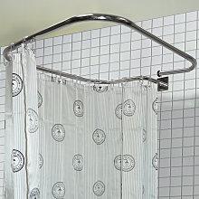 LOOP SQUARE - Stainless Steel Rectangular Shower