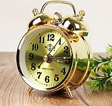 LOOPIG Alarm Clock Retro Gold Mechanical Manual