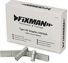 Loops 5000x Type 90 Narrow Crown Staples - 5.8mm x