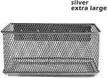 Loopunk Metal Wire Mesh Magnetic Storage Basket