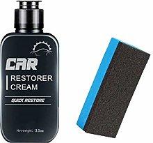 LOPUY Auto Leather&plastic Refurbishment Paste,