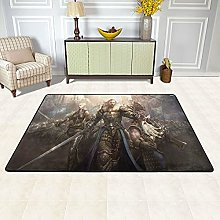 Lord Of The Rings Bedside Carpet Area Rug Fuffy