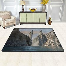 Lord Of The Rings Rug Soft Fluffy Mat,Carpets