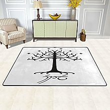 Lord Of The Rings Small Area Rug Color Bathroom