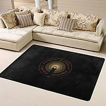 Lord Rings Area Rug Floor Rugs Living Room Bedroom