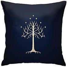 Lord Rings Square Pillowcase Soft Plush Living
