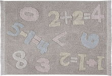 Lorena Canals Cotton Rug - Baby Numbers - 1 item