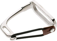 Lorina Peacock Safety Irons (Pair) (4in) (Silver)