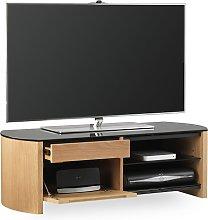 Lorraine Small Wooden TV Cabinet In Light Oak With