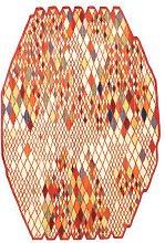 Losanges I Orange 165 x 245cm