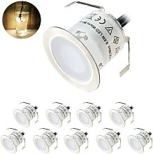 Lot of 10 Spot LED Built-in Outdoor, IP67