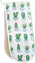Lottie Murphy Cactus Double Oven Gloves - 100%