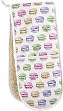 Lottie Murphy Macaron Double Oven Gloves - 100%