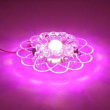 Lotus 5W LED ceiling chandelier for living room