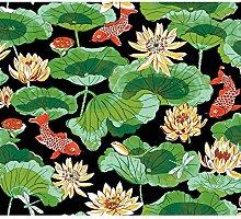 Lotus Lake Adhesive Wallpaper