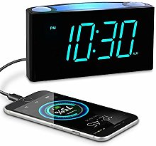 Loud Alarm Clock for Bedrooms,Large LED Clock