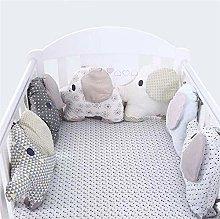 LouisaYork Baby Cot Cushion, Cot Bumper, Bumper