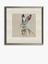 Louise Luton - 'Over Hare' Framed Print &