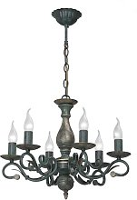 Louisiana 6-Light Candle Style Chandelier Lily