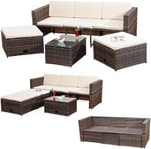 Lounge Garden Set Rattan Furniture Polyrattan
