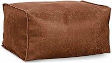 Lounge Pug - DISTRESSED LEATHER - Bean Bag