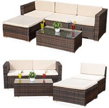 Lounge seating group Rattan lounge Rattan