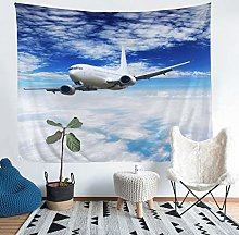 Loussiesd Aircraft Wall Hanging Airplane Print
