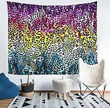 Loussiesd Girls Leopard Print Tapestry Cheetah