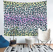 Loussiesd Leopard Print Tapestries Wall Hanging