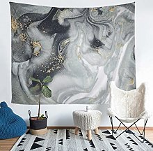 Loussiesd Marble Print Tapestry Abstract Art Wall