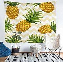 Loussiesd Yellow Pineapple Wall Hanging Tropical