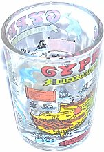 Love Cyprus 25ml Shot Glass(Cool and Stylish