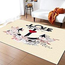 Love Flower Carpet for Living Room Home Living