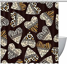 Love Hearts With Animal Zebra Leopard Pattern Home