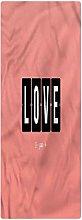 Love Indoor/Outdoor Runner Rug, 2'x4',