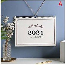 love lamp Wall Calendar 2021 Plan Book Wall