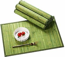 LOVECASA Placemats Set Of 6, Bamboo Placemats, Non