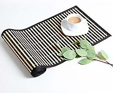 LOVECASA Table Runner, 1-Piece Washable Bamboo