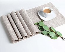 LOVECASA Table Runner, 1-Piece Washable PVC Table