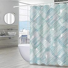 lovedomi Modern Decorative Shower Curtain Abstract