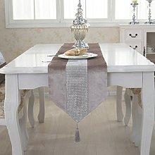 Lovedrop Luxury Modern Velvet Table Runner with