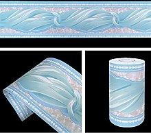 LoveFaye Blue Bowknot Pattern Removable Wallpaper