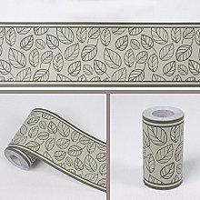 LoveFaye Leaf Style Wallpaper Border Self-Adhesive