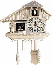 LOVEHOUGE Cuckoo Clock Traditional Black Forest