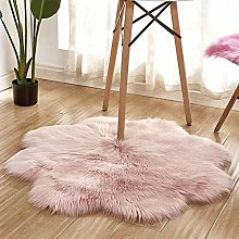 LoveHouse Ultra Soft Faux Fur Rug For Bedroom,