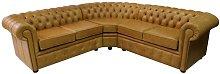 Loveland Chesterfield Leather Corner Sofa Rosalind