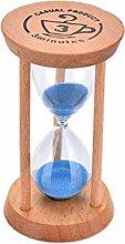 Lovely 3 Mins Wooden Frame Sandglass Sand Glass